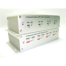 UTP Video - Receiver e Transmitter - 4 Channel